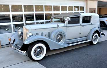 packard limo nyc