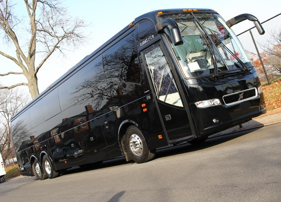 2017 Volvo Coach Bus Rental In Nyc And Nj