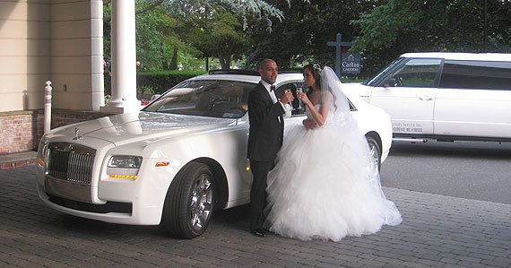 new york wedding limos